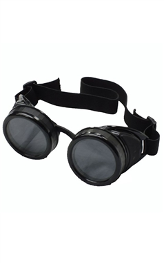 Poizen Industries Black Goggles