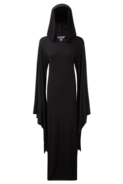 Killstar Gothic Conjuring Hood Dress