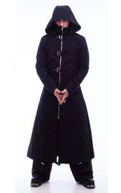 Necessary Evil Mens Highwayman Full Length Coat