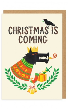 Ohh Deer Christmas Is Coming Card
