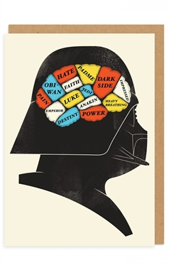 Ohh Deer Darth Vader Card