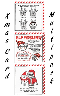 Ohh Deer Gemma Correll Christmas Card Set