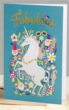 Ohh Deer Fabulous Unicorn Card