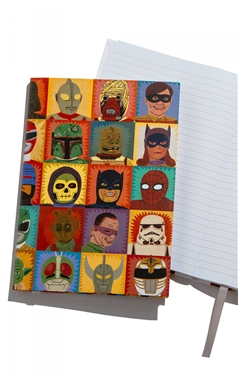 Ohh Deer Heroes and Villains Notebook