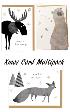Ohh Deer Christmas Card Set