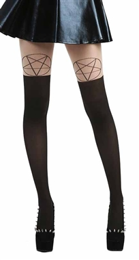 Pamela Mann Nude Pentagram Tights