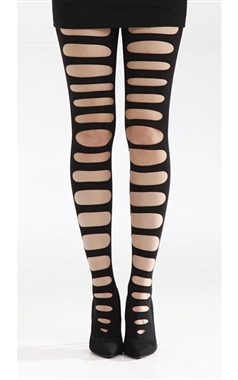 Pamela Mann Front Slash Tights