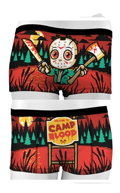 Period Panties Camp Blood Boy Shorts