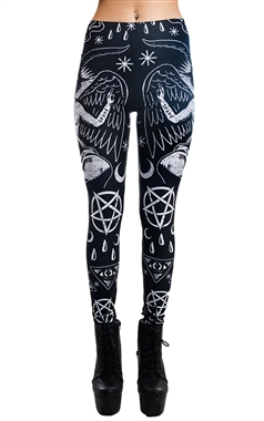 Rat Baby Gothic Demon Leggings
