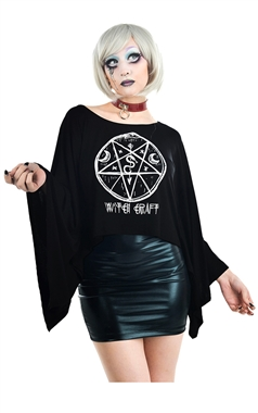 Rat Baby Witch Craft Cape Top