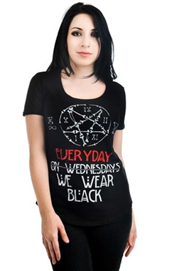 Rat Baby Gothic Everyday Black T-Shirt