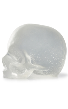 Rebels Refinery Clear Skull Soap Set