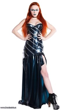 Slaughter House Couture Gothic Ball Gown