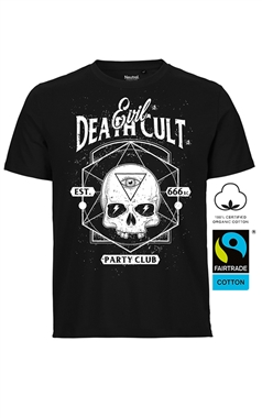 Supernova Cult Mens Gothic Evil Death Cult T-Shirt