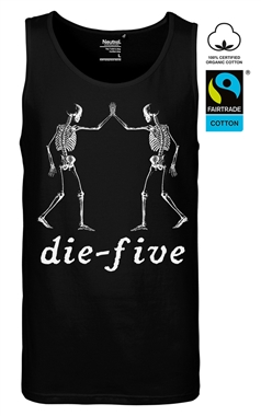 Supernova Cult Mens Gothic Die Five Tank