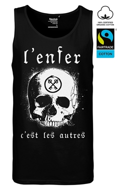 Supernova Cult Mens Gothic Hell Tank