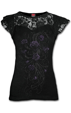 Spiral Gothic Entwined Lace Top