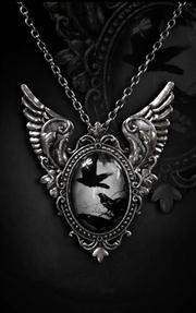 Restyle Gothic Raven Necklace