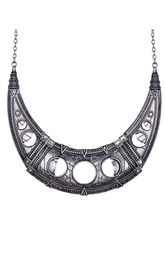 Restyle Gothic Hollow Moon Choker