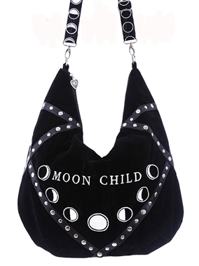 Restyle Gothic Moon Child Bag