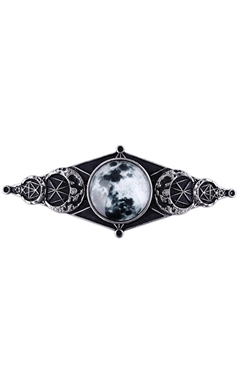 Restyle Gothic Moon Geometry Hair Clip