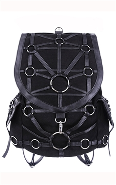 Restyle Gothic O-Ring Backpack