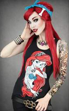 Restyle Rebel Mermaid Vest