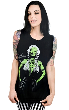 Too Fast Zombie Marilyn Vest Top