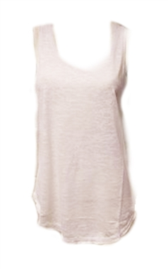 Sponder Gothic White Slashed Back Vest