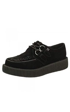 TUK Viva Lo Black Suede Creeper