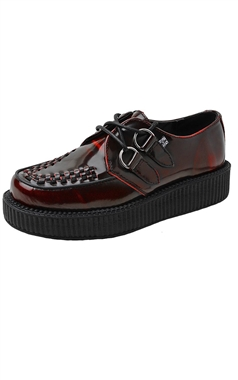 TUK Burgundy Rub-Off Viva Creeper