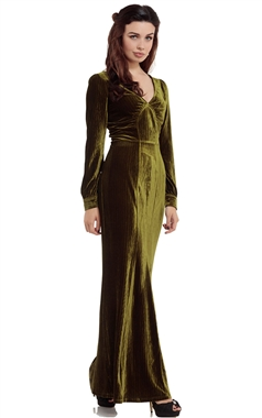 Voodoo Vixen Olive Dress