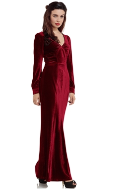 Voodoo Vixen Scarlet Dress