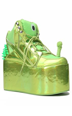 YRU Green Alien Platforms