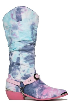 YRU Tie Dye Death Proof Boots