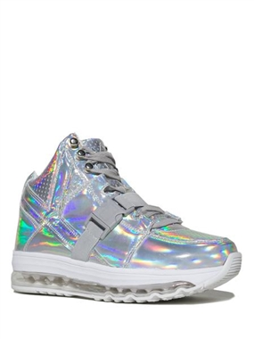 YRU Qozmo Hologram Light Up Trainers