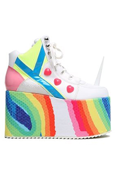YRU Unicorn Rainbow Platforms